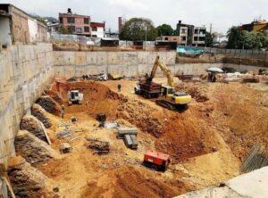 Excavación mecánica