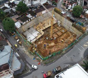 Cimentación e inicio construcción estructura del proyecto